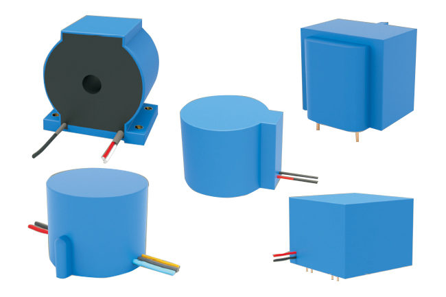 high-voltage protection with current transformer